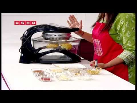 Usha Halogen Oven Recipe Demo Video