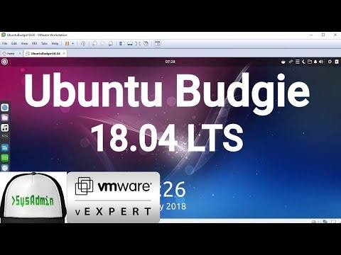 How to Install Ubuntu Budgie 18.04 LTS + VMware Tools + Review on VMware Workstation [2018]