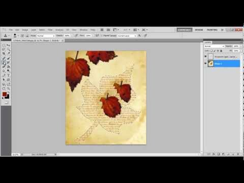 How to Fill any Shape With Text in Photoshop