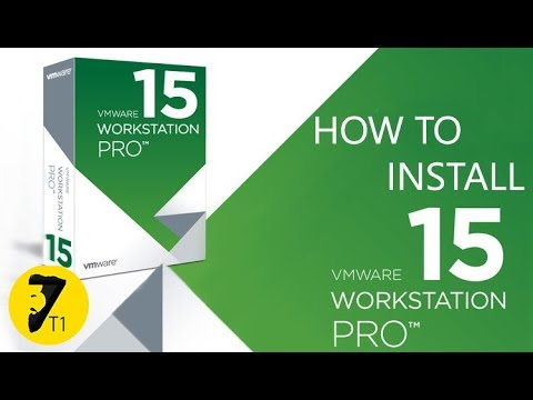 How to install VMware Workstation 15 Pro