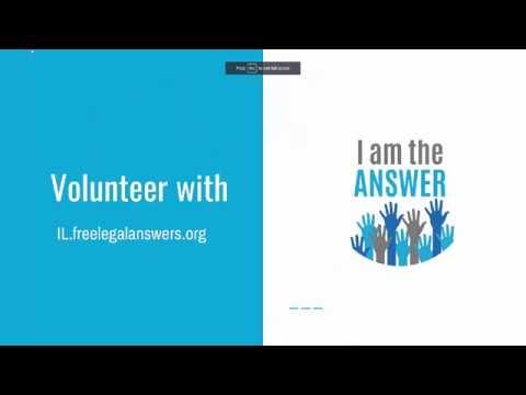 IllinoisLegalAid.org Website Overview for Volunteer Attorneys