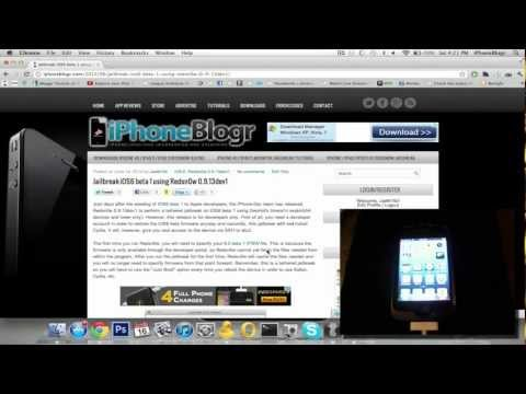 How to Jailbreak iOS 6 Beta with Redsn0w