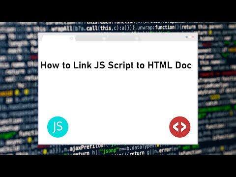 Link Javascript file in HTML