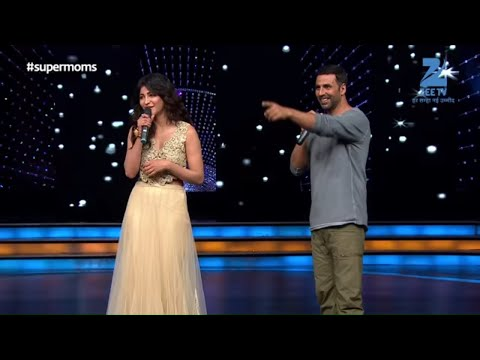Akshay Kumar and Shruti  Hasan had a blast on the sets of Zee TV's DID Supermoms