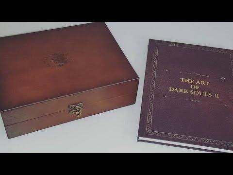 Распаковка редкого японского коллекционного издания Dark Souls 2