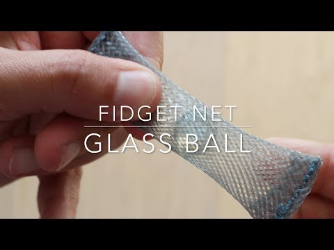 Fidget Net glass ball