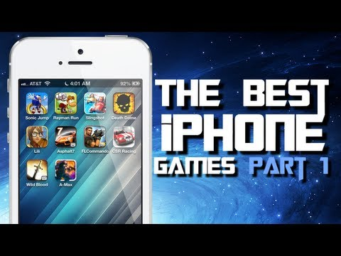 Best iPhone Game Apps  2012 (Part 1) Top 10 iPhone & iPod Touch Game Apps For November