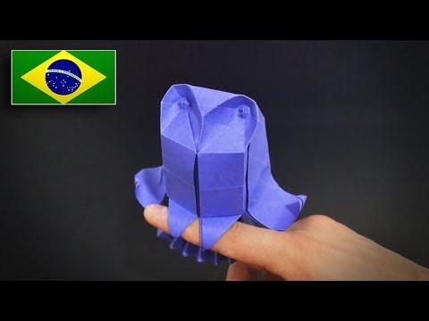 Origami: Coruja das Torres (Riccardo Foschi) - Instruções em Português BR