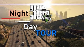 """Welcome to my new video """"GTA V. Night Tour"""" (3)! Today we will drive only on a freeway (Great Ocean Drive, Road 13, and Road 15). We are starting in a little village called """"Paleto Bay"""", at 5:10 am. We are on the Great Ocean Drive already! We are have to go around the Mount Chilliad. After that we are going through the """"Braddock Tunnel"""". Freeway has new name - Road 13. We continue straight ahead until a highway sign will guide us to the Road 15, (It will be after the last exit to the Road 68). We must watch our lane so we go right towards our destination. Than we just turn right onto the Road 15 and the freeway leads us into our destination. Thanks for Watching! :)  Game in video: Grand Theft Auto V. Music in video: https://www.youtube.com/watch?v=nLzjm9E1hwg Don"""