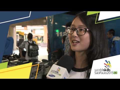 Ting Yi Su, WorldSkills Competitor from Chinese Taipei