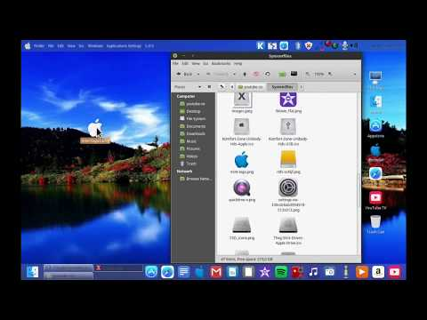 iMAC OS Linux Distro : Inside look - How to partition / install/fix /and bootanimation fix Update