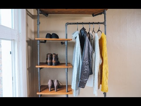 How to Make a Gas Pipe Storage Solution