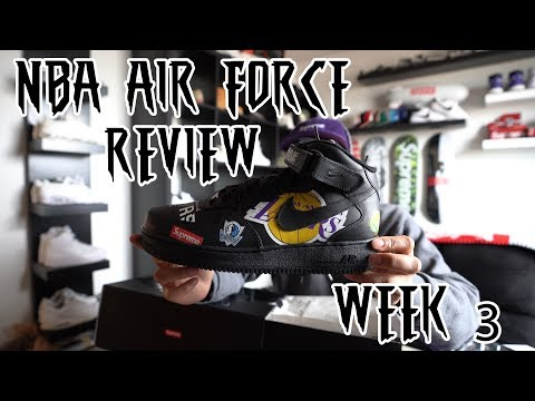 Supreme NBA Air Force 1 Review + SIGG Bottle S/S 18 Week 3