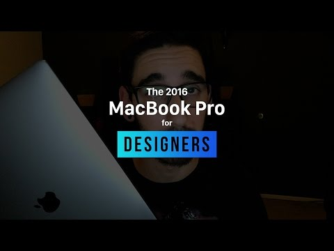 Is the 2016 MacBook Pro for Designers?