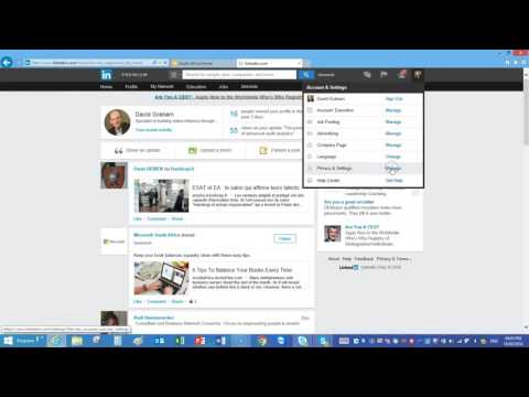 How to turn off LinkedIn profile edit notifications