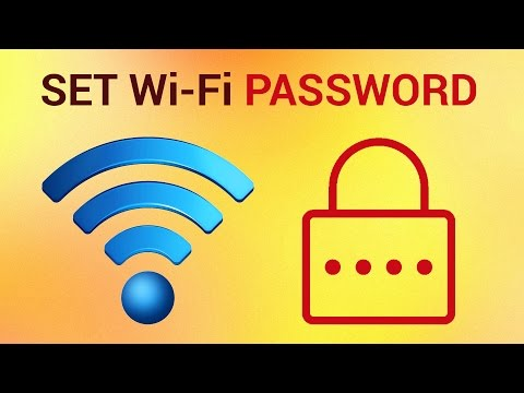 How to set Wifi Password