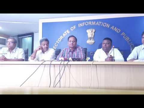 Min. Satyendar Jain's PC on Measures for Pollution Control,Solid Waste Management & Dark Spots.