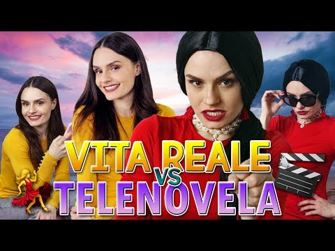 💁 VITA REALE vs TELENOVELA 🎬💃 - TOP ADOROS | MARYNA