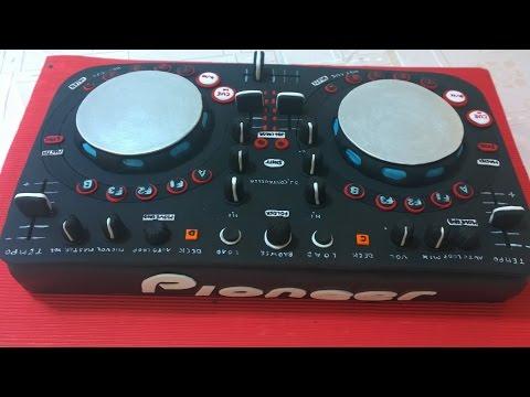 Torta DJ, Paso a Paso, DJ Cake