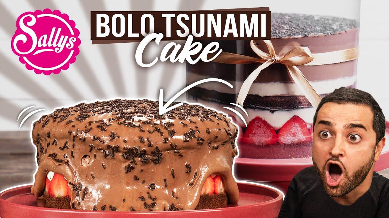 Bolo Tsunami Cake / Schokoladentorte / Caketrend 2020