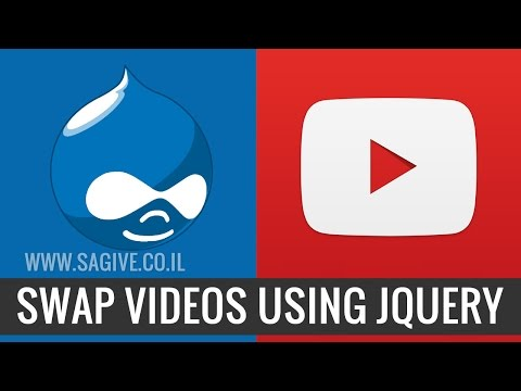 Swap youtube videos dynamically with jQuery
