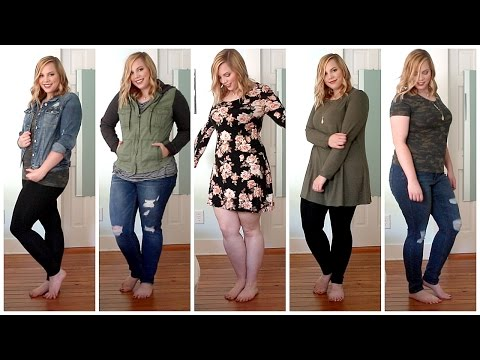 d12a2b5104b FALL Plus Size Try On Haul