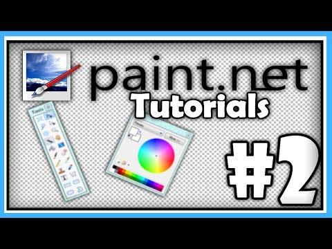 PAINT.NET TUTORIALS - Part 2 - Image Manipulation, Shadows, and Backgrounds [HD]