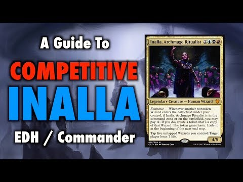MTG - A Guide To Competitive Inalla EDH / Commander Deck Upgrades for Magic: The Gathering
