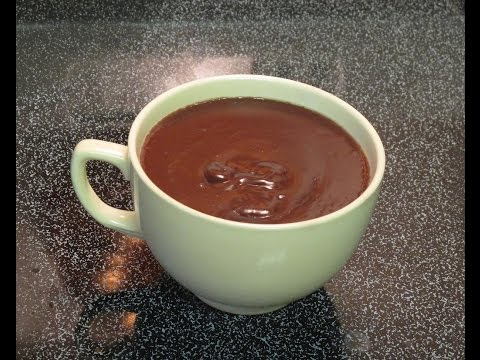Hot Chocolate You Eat with a Spoon