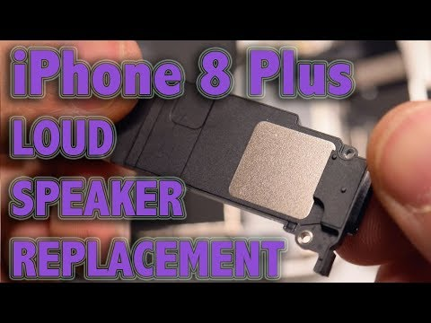 iPhone 8 Plus Loud Speaker Replacement