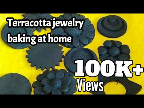 Terracotta Jewelry Baking at Home