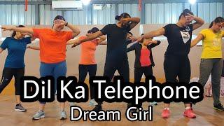 Dil Ka Telephone - Dream Girl | Ayushmann Khurrana |Meet Bros Ft.Jonita Gandhi& Nakash Aziz | Fayaz