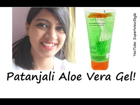 Patanjali Aloe Vera Gel for Face - How to ACTUALLY use? | Bridal Skin Care Series by superWOWstyle