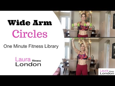Wide Circles - One Minute Fitness Exercise Library