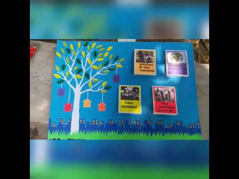 Poster Presentation on Tree Plantation