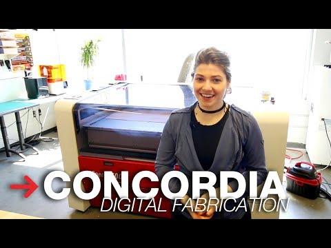 Digital Fabrication Lab - Concordia University | Trotec SP500