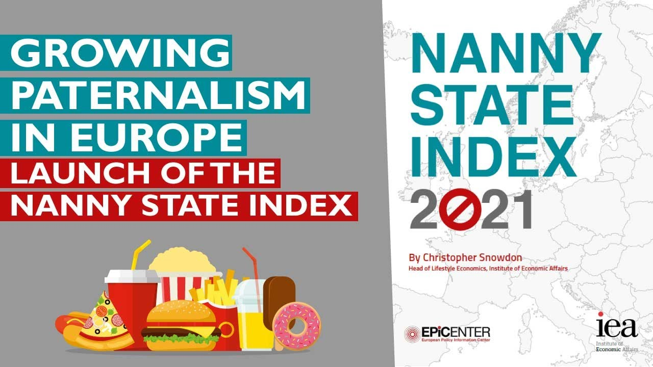 Growing paternalism in Europe – Launch of the Nanny State Index