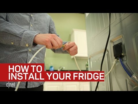 How to install and level your refrigerator (CNET How To)