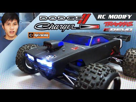 RC Modify 2 | HPI Dodge Charger Body on Traxxas E-REVO