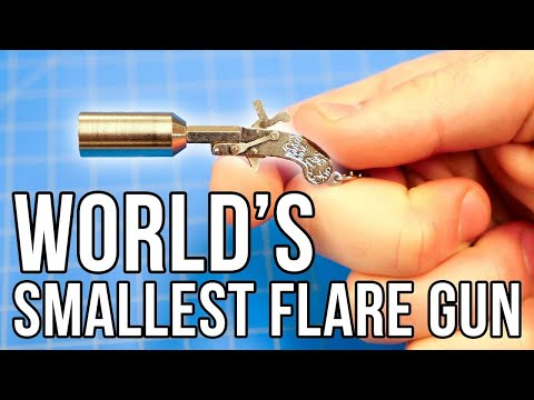 World's Smallest Flare Gun! (Actually Shoots!)