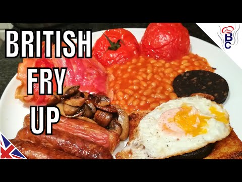 British Fry Up English Breakfast Recipes With Eggs British Cooking