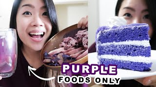 Download I Only Ate Purple Foods For 24 Hours Video