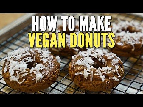 Low Sugar Vegan Donuts