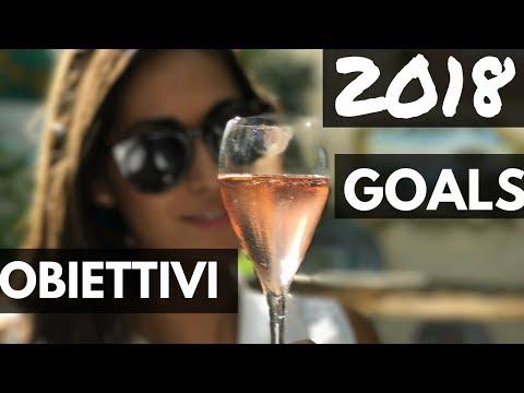 MY 2018 GOALS ✨ OBIETTIVI PER 2018 (sott ita)