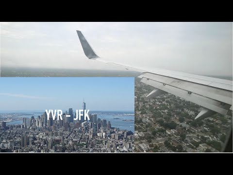 Delta Air Lines B737-800 | VANCOUVER TO NEW YORK | Flight Vlog