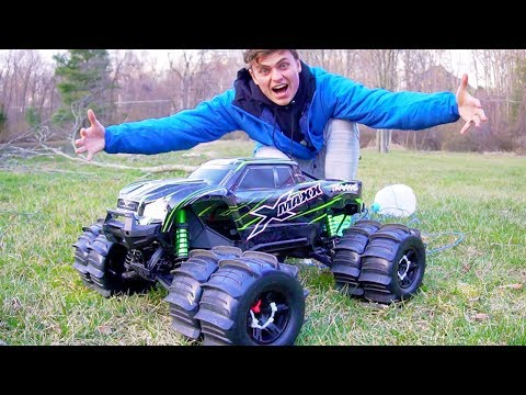 MONSTER XMAXX TRUCK!! (RC CAR MOD DUALLY)