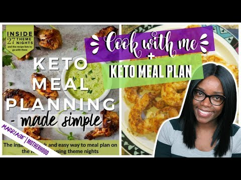 KETO Meal Plan | Cook with Me | Working Mom Weekday Meal
