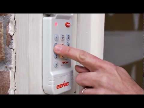 Genie Garage Door Opener Keypad Programing Instructions