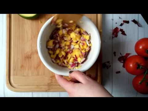 Easy Chipotle Mango Salsa
