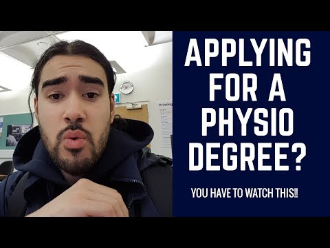 How to get into a Physiotherapy Degree in the UK | What to expect | Tips
